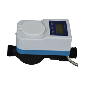 Remote RF card water meter