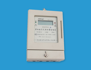 Contact Card Single Phase meter
